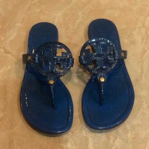 d0952fec9bfe Tory Burch Shoes - Tory Burch Miller patent thong sandal
